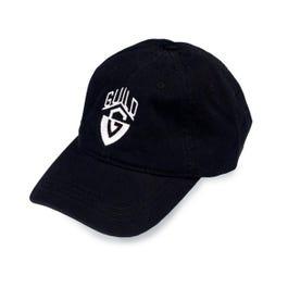 Guild G-Shield Logo Baseball Hat, Black