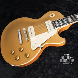 Image for Les Paul Standard '50s P90 Electric Guitar Gold Top from SamAsh