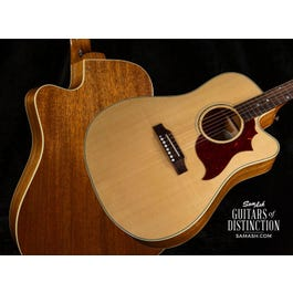 Image for Hummingbird M Mahogany Acoustic-Electric Guitar Antique Natural from SamAsh