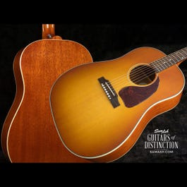 Image for J-45 Ltd. Ed. Acoustic-Electric Guitar Heritage Cherry Sunburst from SamAsh