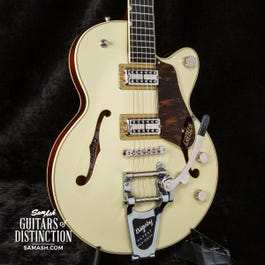 Gretsch G6659T Players Ed. Broadkaster Jr. Semi-Hollow Electric Guitar Lotus Ivory/Walnut Stain