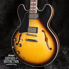 Gibson ES-345 Semi-Hollow Left-Handed Electric Guitar Vintage Burst