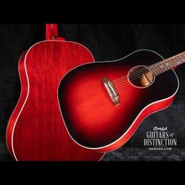 Image for Slash J-45 Acoustic-Electric Guitar Vermillion Burst from SamAsh