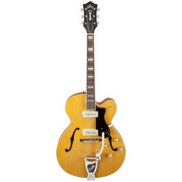 Guild X-175B Manhattan Hollow Body Electric Guitar with Guild Vibrato Tailpiece