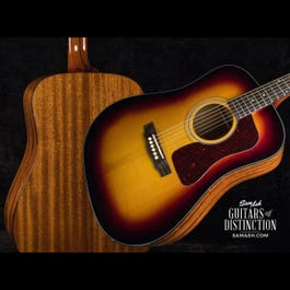 Image for USA D-40 Traditional Dreadnought Acoustic Guitar Antique Sunburst from SamAsh