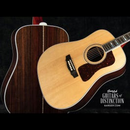Image for USA D-55 Dreadnought Acoustic Guitar Natural from SamAsh