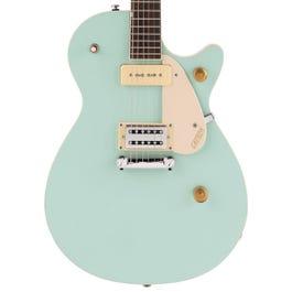 Image for G2215-P90 Streamliner Junior Jet Club Electric Guitar (Mint Metallic) from SamAsh