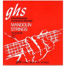 Image for A250 Light Loop End Bright Bronze Mandolin Strings (11-38) from SamAsh
