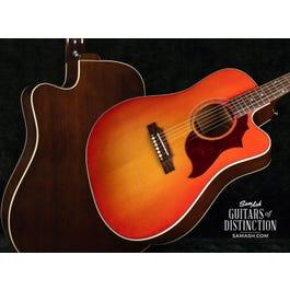 Image for Songwriter Modern EC Mahogany Acoustic-Electric Guitar Light Cherry Burst from SamAsh