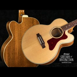 Image for Ltd. Ed. Parlor Mahogany AG Acoustic-Electric Guitar Antique Natural from SamAsh