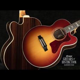 Image for Parlor Modern EC Rosewood Acoustic-Electric Guitar Rosewood Burst from SamAsh