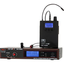 Image for AS-1100 Wireless In-Ear Personal Monitors Wireless System from SamAsh