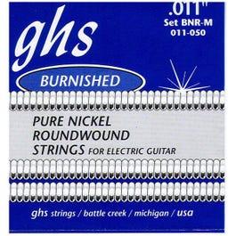 Image for BNRM Medium Burnished Nickel Electric Guitar Strings (11-50) from SamAsh
