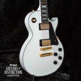 Image for Custom Les Paul Custom Electric Guitar Alpine White from SamAsh