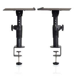 Gator Frameworks Adjustable Height Clamp-On Studio Monitor Stand (Pair)