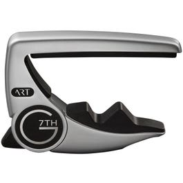G7th Performance 3 Steel String Capo with ART, Silver