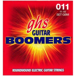 Image for GBM Medium Boomers Electric Guitar Strings (11-50) from SamAsh