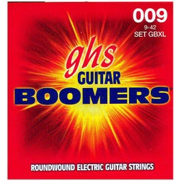Image for GBXL Extra Light Boomers Electric Guitar Strings (9-42) from SamAsh