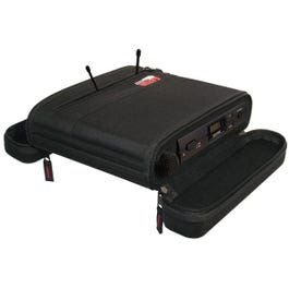 Image for EVA Foam Case for A Single Wireless Mic System; half rack from SamAsh