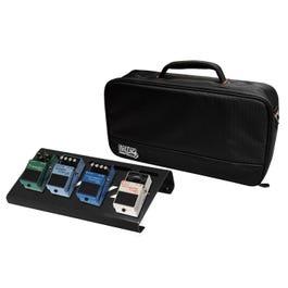 Gator GPB-LAK Lightweight Aluminum Pedal Board with Carry Bag, Black