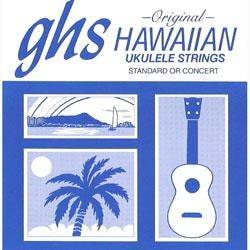 Image for H-10 Hawaiian Black Nylon Ukulele Strings from SamAsh