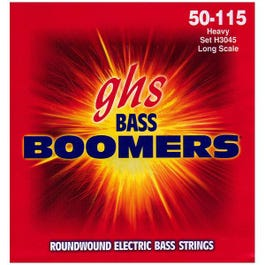Image for H3045 Heavy Boomers Long Scale Electric Bass 4 String Set (50-115) from SamAsh