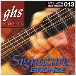 Image for LJ40TM True Med Lawrence Juber Signature Bronze Acoustic Guitar Strings (13-56) from SamAsh