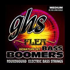 Image for 6045 Flea Signature Bass Boomers Electric Bass 4 String Set (045-105) from SamAsh
