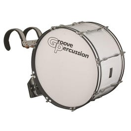 Image for MBD1222W 12x22 Marching Bass Drum with Vest Carrier from SamAsh