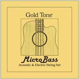 Gold Tone MBS MicroBass Strings