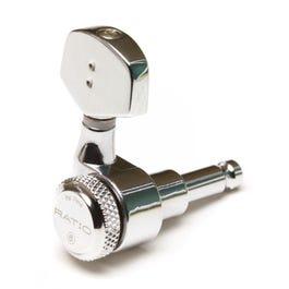 Graph Tech PRL-8311-C0 Locking Ratio Machine Heads, Electric 3+3 Contemporary, Chrome 2 Pin