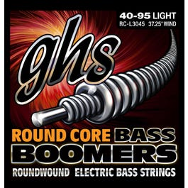 GHS L3045 4-String Bass Round Core Boomers - Light, 40-95