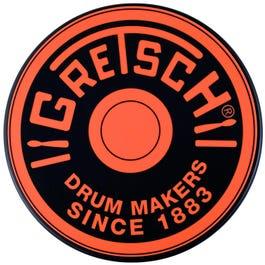 "Gretsch Round Badge 6"" Orange Practice Pad"