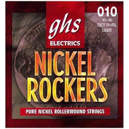 Image for R+RL Light Nickel Rockers Electric Guitar Strings (10-46) from SamAsh