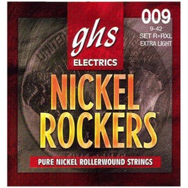 Image for R+RXL Extra Light Nickel Rockers Electric Guitar Strings (9-42) from SamAsh
