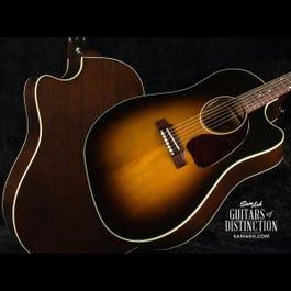 Image for Ltd Ed J-45 Cutaway Acoustic-Electric Guitar Vintage Sunburst from SamAsh