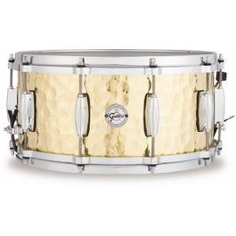 "Gretsch 6.5"" x 14"" Silver Series Hammered Brass Snare"