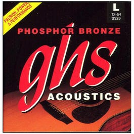 Image for S325 Light Phosphor Bronze Acoustic Guitar Strings (12-54) from SamAsh