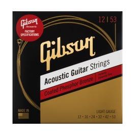 Image for Coated Phosphor Bronze Acoustic Guitar Strings, Light, 12-53 from Sam Ash