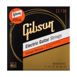 Image for Vintage Reissue Electric Guitar Strings, Medium Gauge, 11-50 from Sam Ash