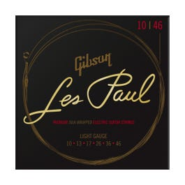 Image for Les Paul Premium Electric Guitar Strings, Light Gauge, 10-46 from Sam Ash