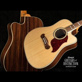 Image for Limited Edition Songwriter Cutaway Acoustic-Electric Guitar Antique Natural from SamAsh