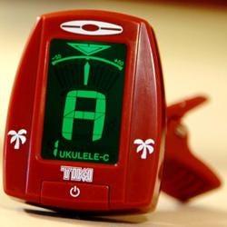 Image for Tiki Ukulele Clip-on Tuner from SamAsh