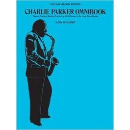 Image for Charlie Parker Omnibook Play-Along (3-CD Pack) from SamAsh