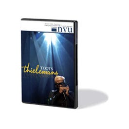 Image for Toots Thielemans-The Jazz Master Class Series From NYU (Harmonica) DVD from SamAsh