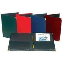 Hal Leonard Choral Rehearsal Folder  9 x 12 with Gusset Pockets – Blue