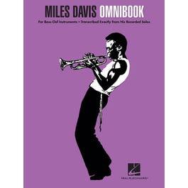 Hal Leonard Miles Davis Omnibook-For Bass Clef Instruments