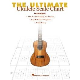 Hal Leonard The Ultimate Ukulele Scale Chart
