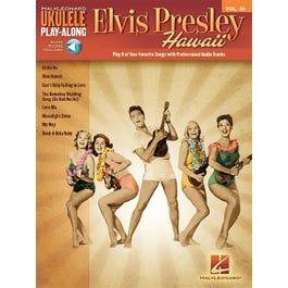 Hal Leonard Elvis Presley-Ukulele Play-Along Volume 36-Audio Online