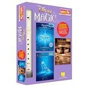 Hal Leonard Disney Magic – Learn & Play Recorder Pack -3 Songbooks + Recorder